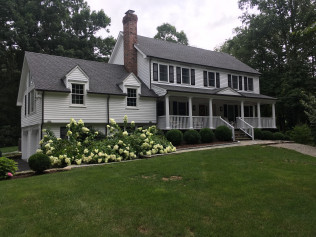 Exterior Painting - Wilton, CT - August 2018